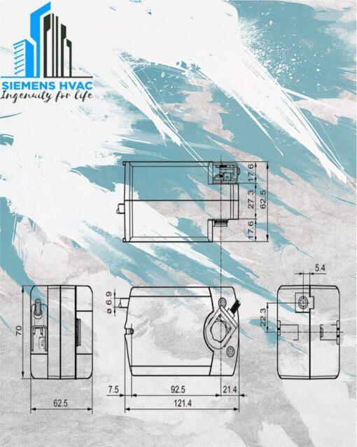 موتور دمپر زیمنس