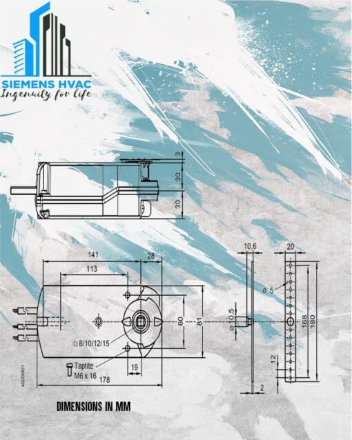 موتور دمپر 4 نیوتن زیمنس